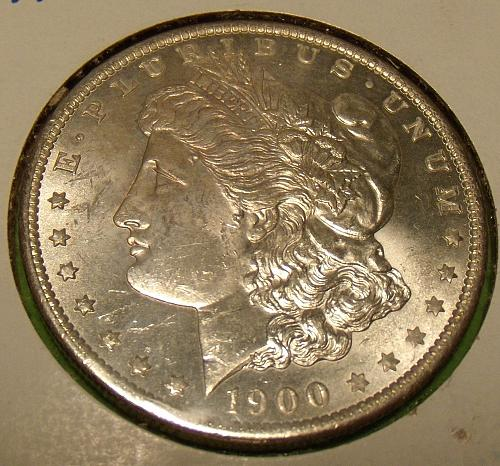 1900O Morgan Dollar  MS61  #$-1900O-1