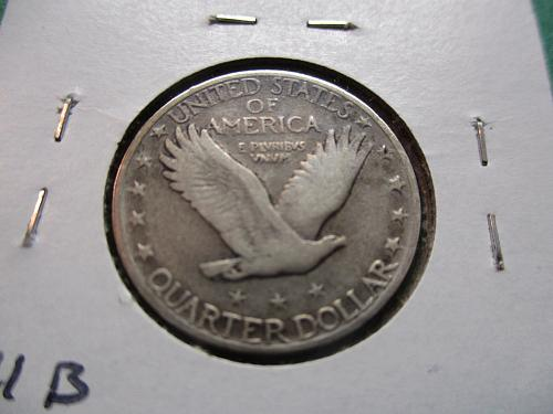 1929-S  VF30 Standing Liberty Quarter.  Item: 25 ST29S-02.