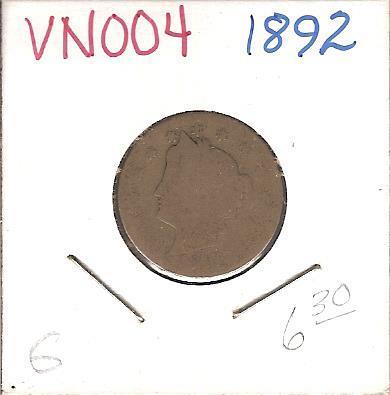 "1892 Liberty ""V"" Nickel"