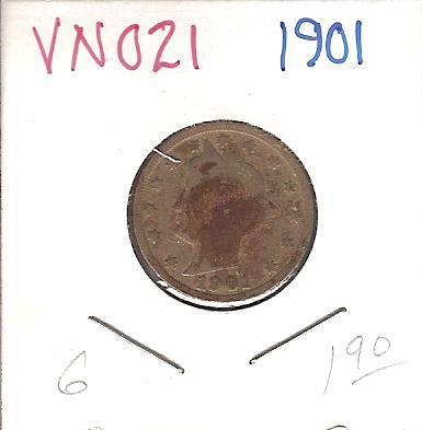 "1900 Liberty ""V"" Nickel"