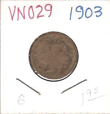 "1903 Liberty ""V"" Nickel"