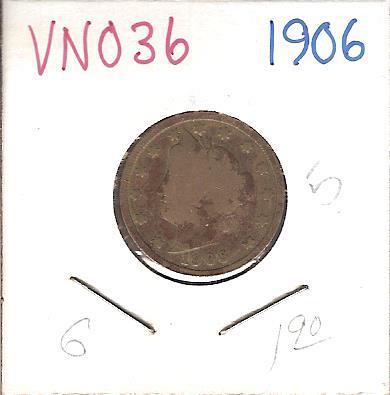 "1906 Liberty ""V"" Nickel"