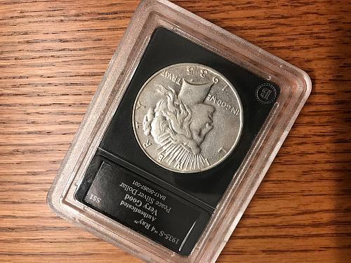 1935 S Peace Dollar