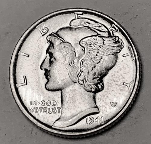 1941 Mercury Dime MS63 [BMRD 210]