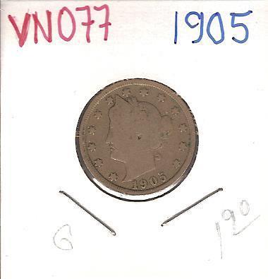 "1905 Liberty ""V"" Nickel"