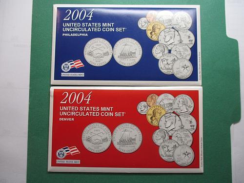2004 US Mint Set.  Item: MS 04K.