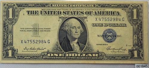 1935 E Series 1$ Silver Certificate