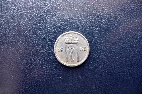 1953 Norway.    10 Ore