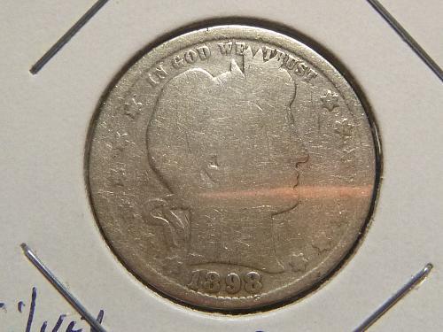 1898 P Barber Quarters