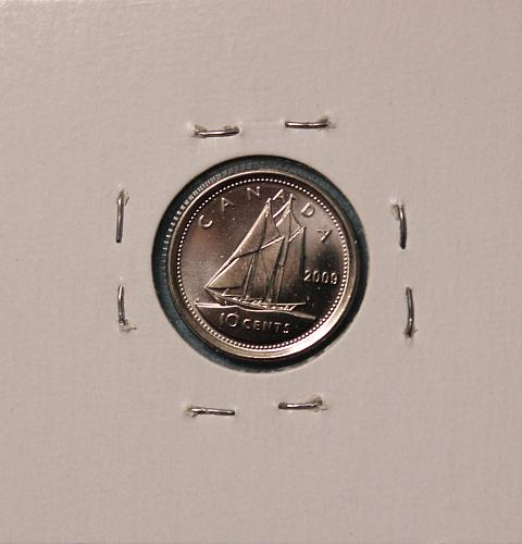 Canada 2009 10 cents