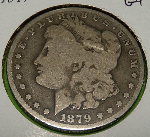 1879O Morgan Dollar G4  #$-1879O-1