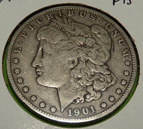 1901O Morgan Dollar  F15  #$-1901O-2