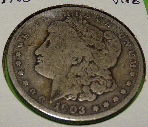 1903 Morgan Dollar  VG8  #$-1903-2
