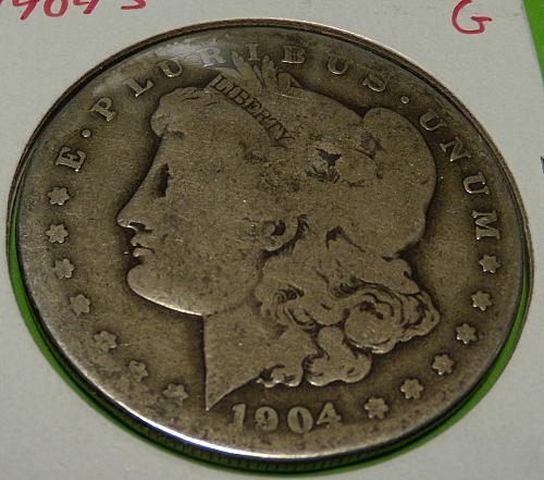 1904S Morgan Dollar  G4  #$-1904S-2