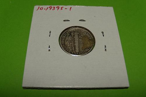 1939S Mercury Dime  VF20  #10-1939S-1