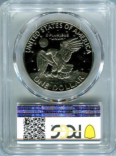 """4 - 1973 - S Eisenhower Dollar """" CLAD """"  PCGS  PR69DCAM"""