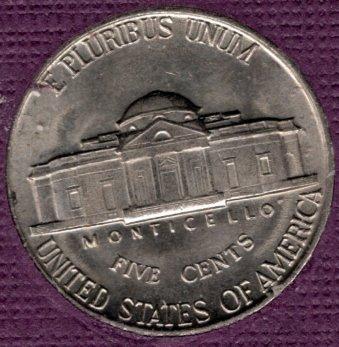 1939 P Jefferson Nickels -#4a