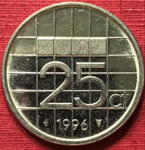 Netherlands 1996 - 25 Cents