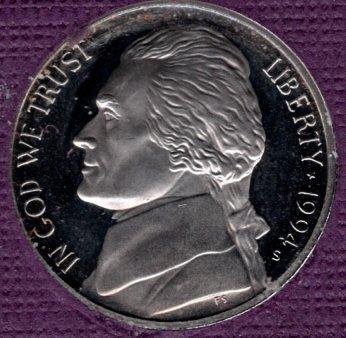 1994 S Jefferson Nickels -#4a