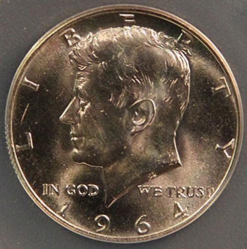 1964 Kennedy Half Dollars 90% Silver Composition