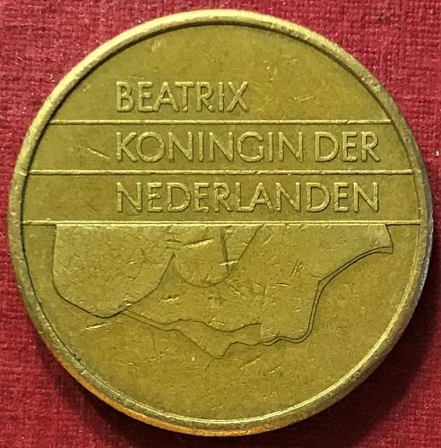 Netherlands 1988 - 5 Gulden [#2]