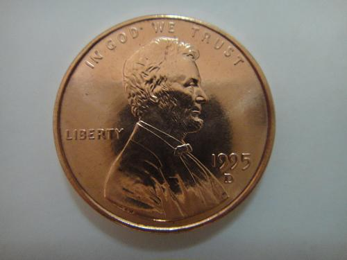 1995-D Lincoln Cent MS-66 (GEM+) RED