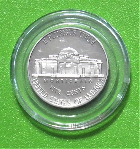 2002-S 5 Cents - Jefferson Nickel - Cameo Proof