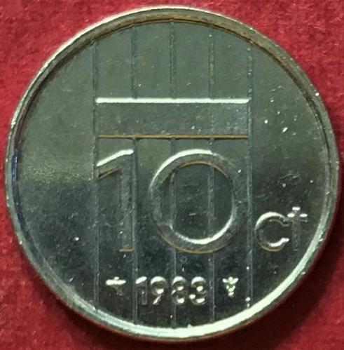 Netherlands 1983 - 10 Cents