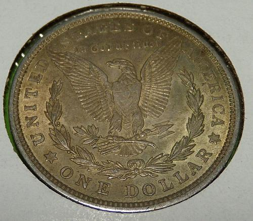 1921 Morgan Dollar  AU55  #$-M1921-5
