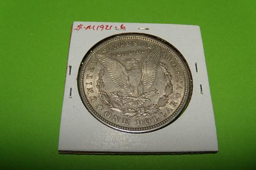 1921 Morgan Dollar  AU55  #$-M1921-6