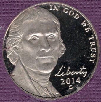 2014 S Jefferson Nickels -#4a