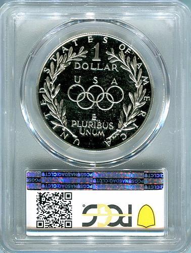 1988-S Olympic Commemorative  PCGS  PR69DCAM