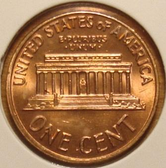 1969 S Lincoln Memorial Cent Small Cent