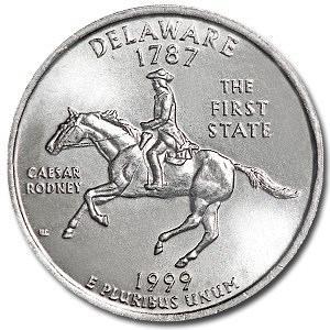 1999-D Delaware State Quarter