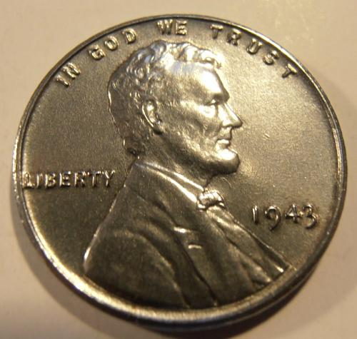 1943 P Lincoln cent - BU from a nice roll