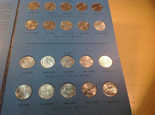 Washington Quarters State Collection Volume 1