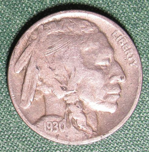 1930P Buffalo Nickel