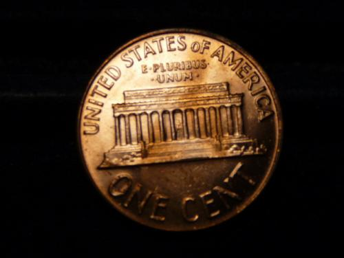 1968-D LINCOLN MEMORIAL CENT IN UNCIRCULATED CONDITION  L-9-20