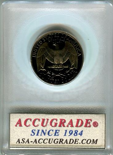 1983 -S  Washington Quarter  ACG   PR-69-UCAM