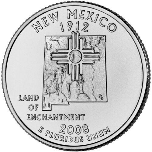 2008  D   NEW MEXICO   STATE QUARTER