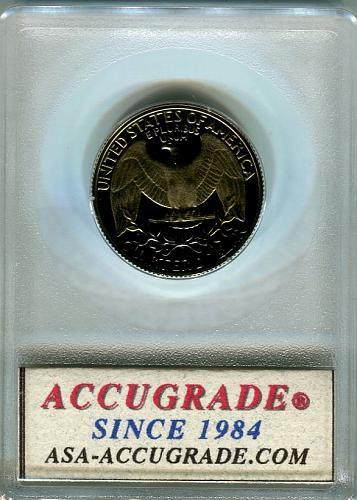 1985 -S  Washington Quarter  ACG   PR-69-UCAM