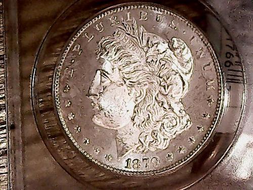 1879 S Morgan Dollars: Reverse of 1879 MS 64 OBV. DMPL