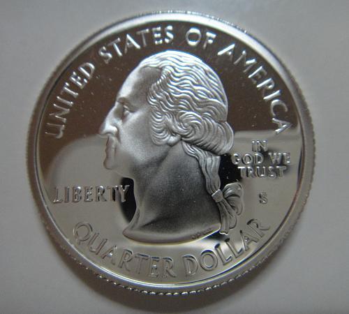Statehood Quarter 2005-S California SILVER Proof-65 (GEM)