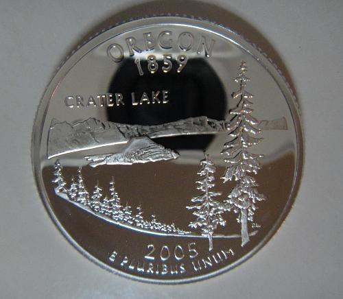 Statehood Quarter 2005-S Oregon SILVER Proof-66 (GEM+)