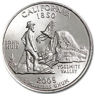 2005-P California Quarter