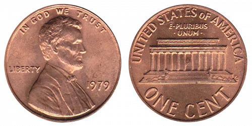 1979-P LINCOLN MEMORIAL CENT IN UNC CONDITION  L-11-20