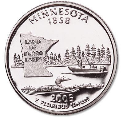 2005-P Minnesota Quarter