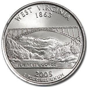 2005-P West Virginia Quarter