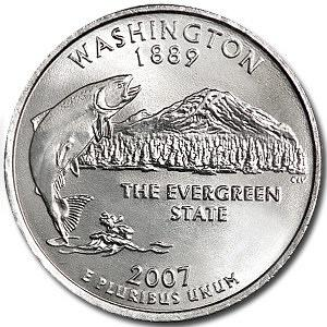 2007-P Washington Quarter