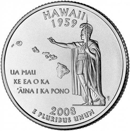 2008-P Hawaii Quarter